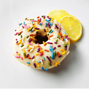 Lemon Sprinkle Donut