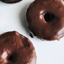 Load image into Gallery viewer, Iced Chocolate Donut (No Topping)