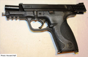 Smith and Wesson mp 9mm