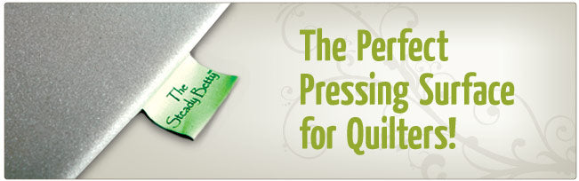The perfect pressing surface for quilters