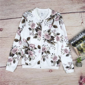 Flowers Casual Jacket