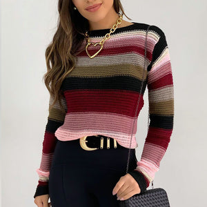 Gloria's Striped Sweater