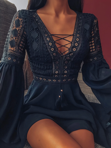 Zoey's Lace Dress
