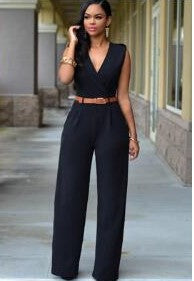 Multi Colored Classic Jumpsuit