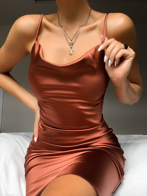 Sofia's Satin Dress