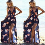 Lily's Floral Maxi Dress