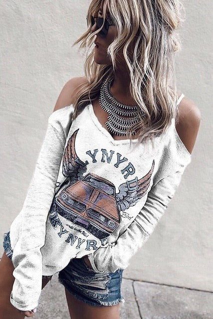 My Fashion Off Shoulder Top