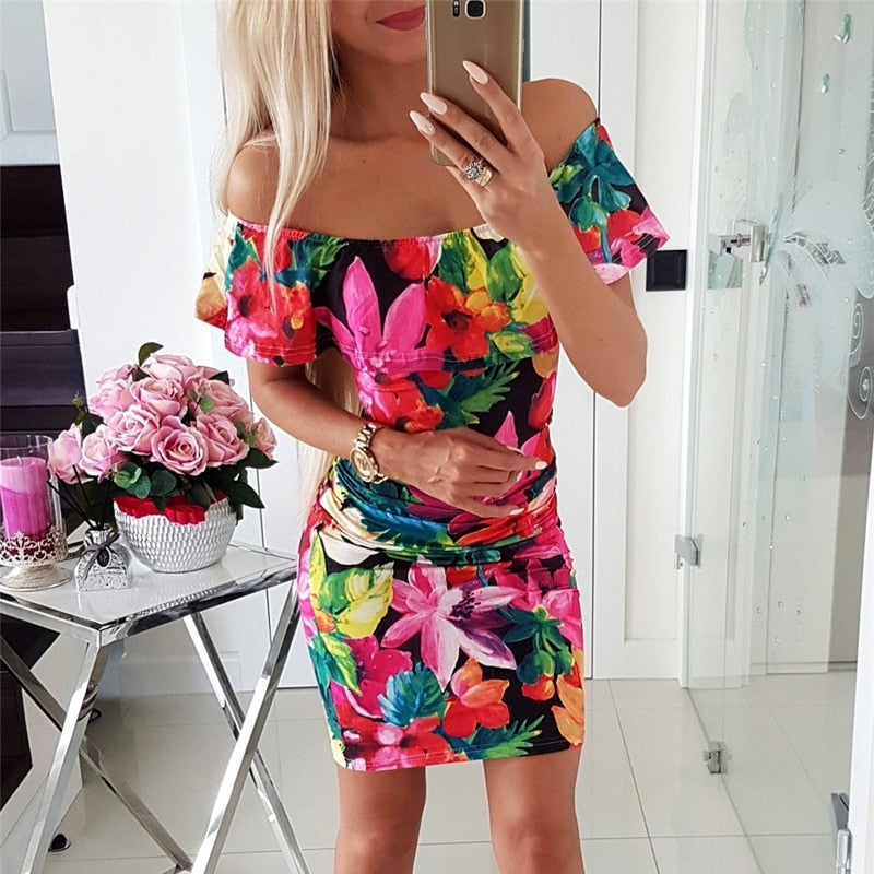 Ava's Floral Dress