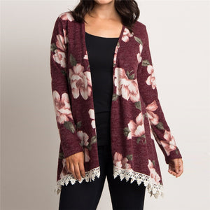 Lia's Floral Cardigan