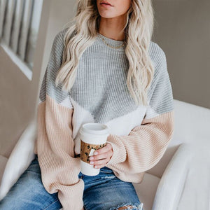 Patchwork Winter Sweater