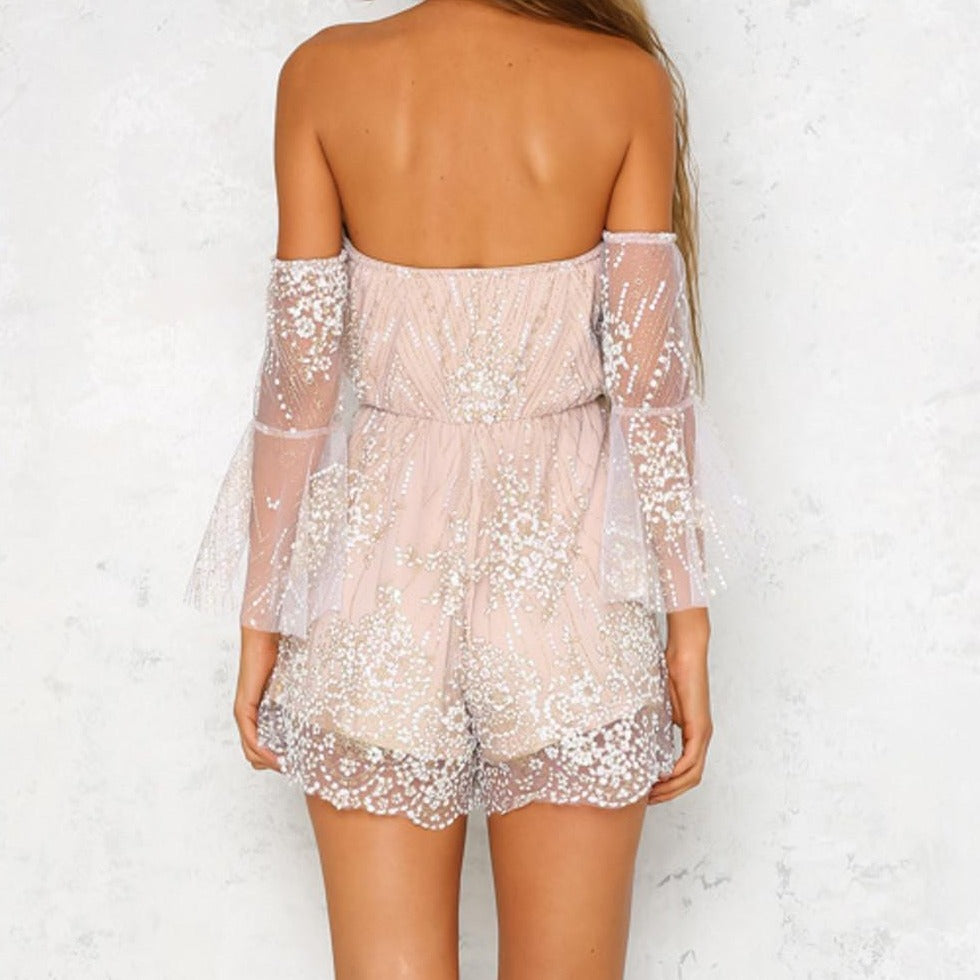 Ashley's Sequin Romper