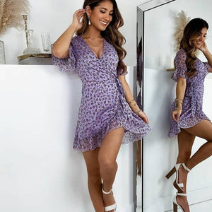 Gia's Boho Mini Dress