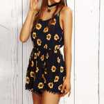 Gianna's Sunflower Romper