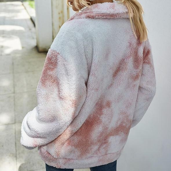 Peyton's Tie Dye Winter Jacket
