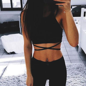 Casual Crop Top