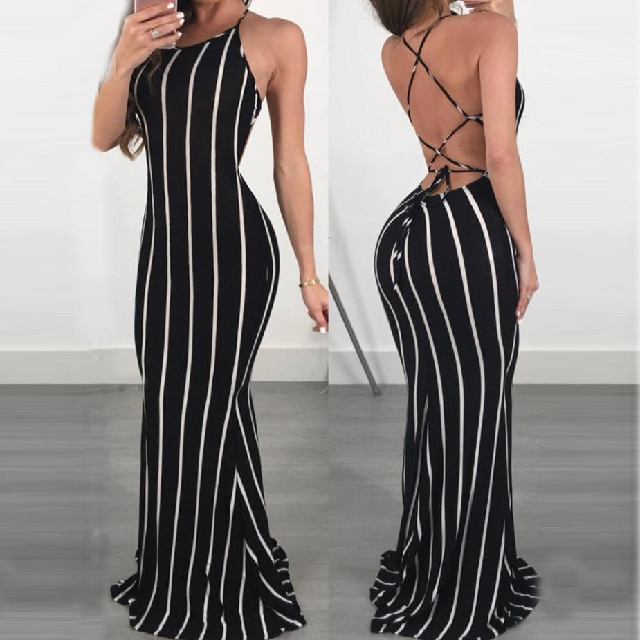 Maxi Stripes Dress