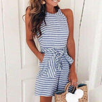 Jamila's Striped Romper