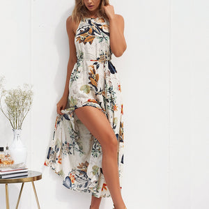 Casual Boho Floral Dress