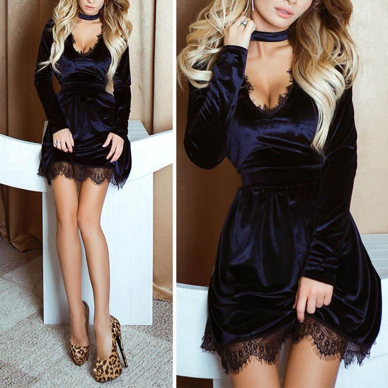 Party Long Sleeve Dress
