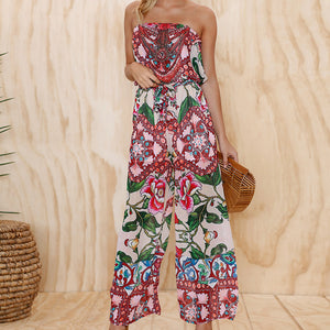 May's Floral Summer Jumpsuit