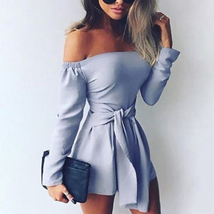 Tina's Off-Shoulder Romper