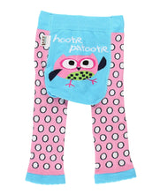 Load image into Gallery viewer, Hootie Patootie Infant Owl Leggings