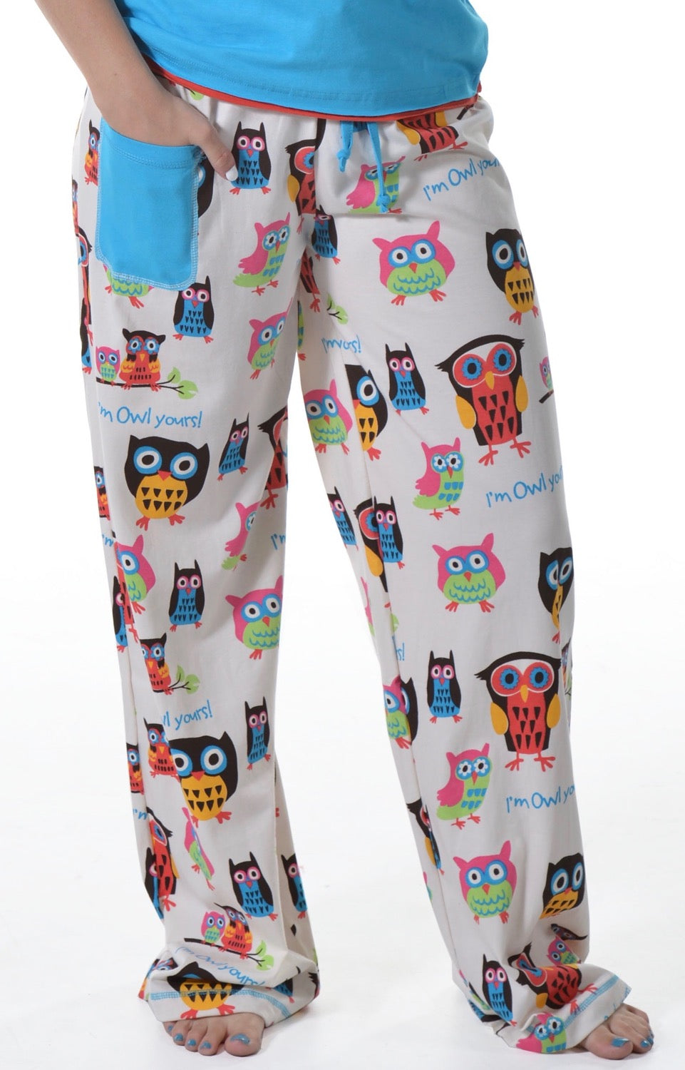 Owl Yours Women's Fitted Owl Pant