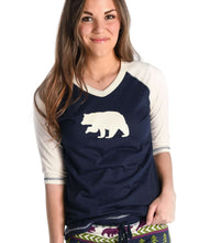 Load image into Gallery viewer, Bear Fair Isle Women's Tall Tee