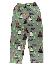 Load image into Gallery viewer, Forest Be With You Men's Moose PJ Pants