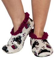 Load image into Gallery viewer, Huckleberry Bear Fuzzy Feet Slipper