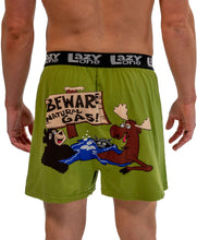 Load image into Gallery viewer, Beware of Natural Gas Men's Comical Boxer