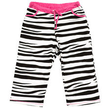 Load image into Gallery viewer, Catching Zzzz's Women's Zebra Capri Pant
