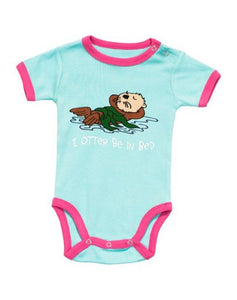 Lazy One - I Otter Be In Bed - Infant Creeper