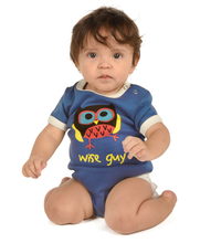 Load image into Gallery viewer, Wise Guy Owl Infant Creeper