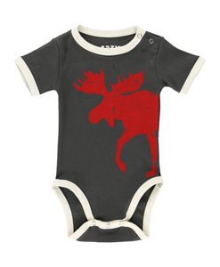 Vintage Moose Infant Creeper Onesie