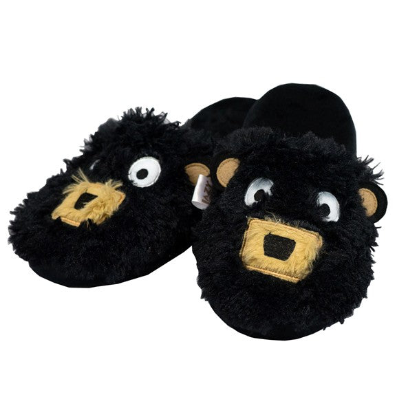 Lazy One - Critter Slipper - Black Bear