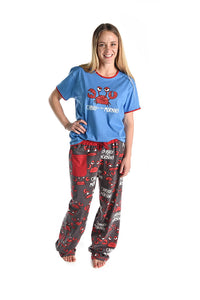 Lazy One - Crabby In Morning - Women's Pj Pant
