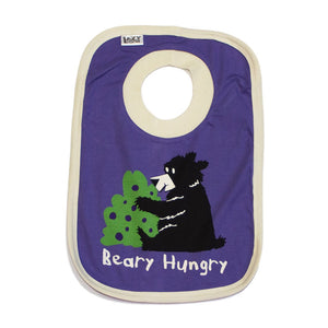 Lazy One - Beary Hungry - Infant Bibs