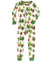 Load image into Gallery viewer, No Peeking! Kids & Youth Reindeer Onesie Flapjack