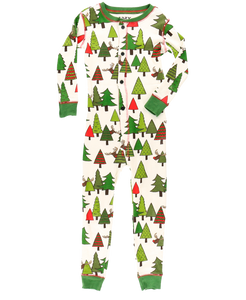 No Peeking! Kids & Youth Reindeer Onesie Flapjack