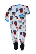 Load image into Gallery viewer, Lazy One - Timberland Bear - Brown Kids Footed Pj