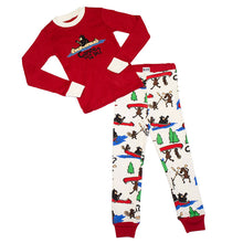 Load image into Gallery viewer, Canoe Tuck Me In Kids Long Sleeve Pj's