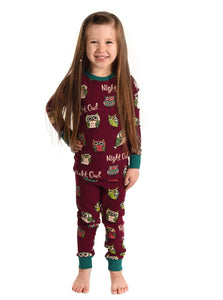 Lazy One - Night Owl - Kid Pj Set