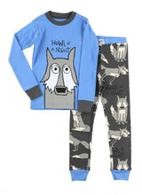 Load image into Gallery viewer, Lazy One - Howl Of A Night - Boys Kids Pj Set