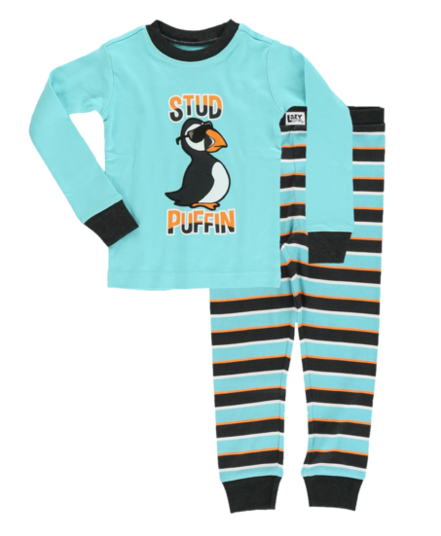 Lazy One - Stud Puffin Kids Pajamas