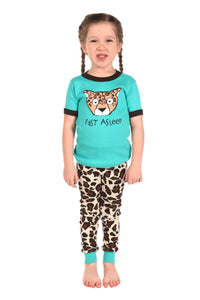 Lazy One - Fast Alseep - Kids S/S Pj Set