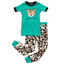 Load image into Gallery viewer, Lazy One - Fast Alseep - Kids S/S Pj Set