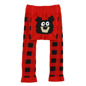 Bear Plaid Infant Legging