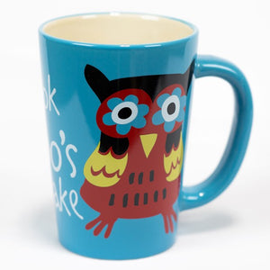 Lazy One - Look Hoo's Awake - Mug