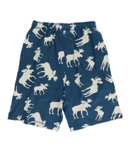 Load image into Gallery viewer, Blue Classic Moose Men's Pajama Shorts